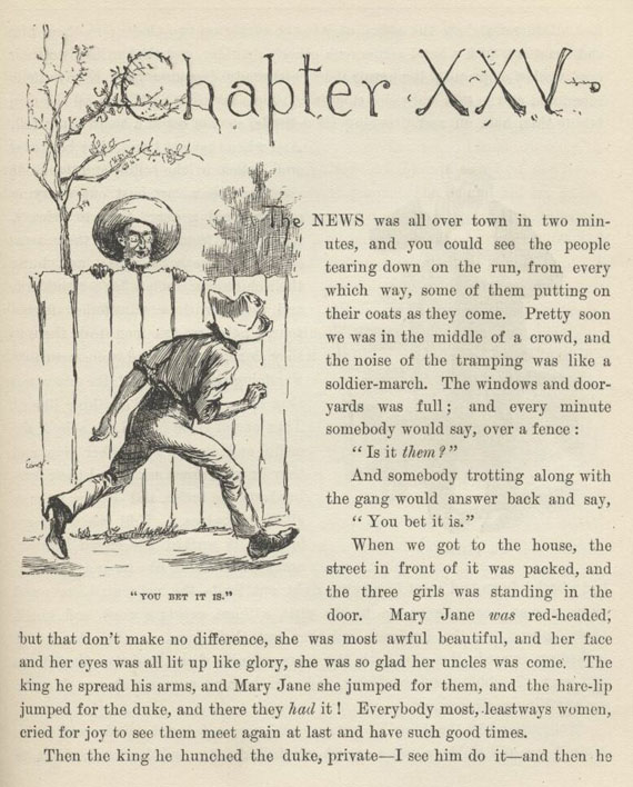 Tom sawyer chapter 25 questions