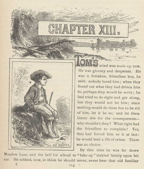 tom ch 13 The adventures of tom sawyer questions and answers the question and answer sections of our study guides are a great resource to ask questions, find answers, and discuss literature home the adventures of tom sawyer q & a.