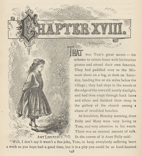 a summary of the adventures of tom sawyer a novel by mark twain The adventures of tom sawyer by mark twain  read the book jacket summary,  the adventures of tom sawyer 1 point of view grade level.