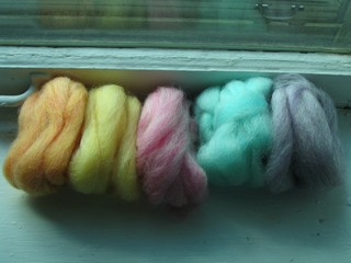 Spring Wool Color Sampler