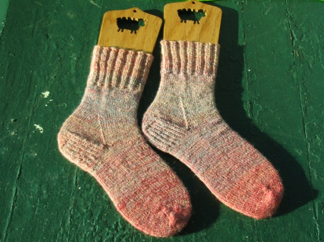 Cotton Candy Handspun Socks